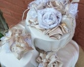 SPECIAL Listing for Phyllis in New Jersey, Cake Topper adding purple ribbon accents