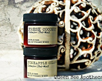 CHOOSE SCENT Deep Conditioning Hair Mask - Hydrolyzed Wheat Proteins & ProVitamin B5