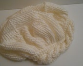 Audra Super Slouchy Hand Knit Cable Band Beanie Hippie BoHo Hat