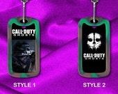 Custom Gamer Dog Tag - Call of Duty