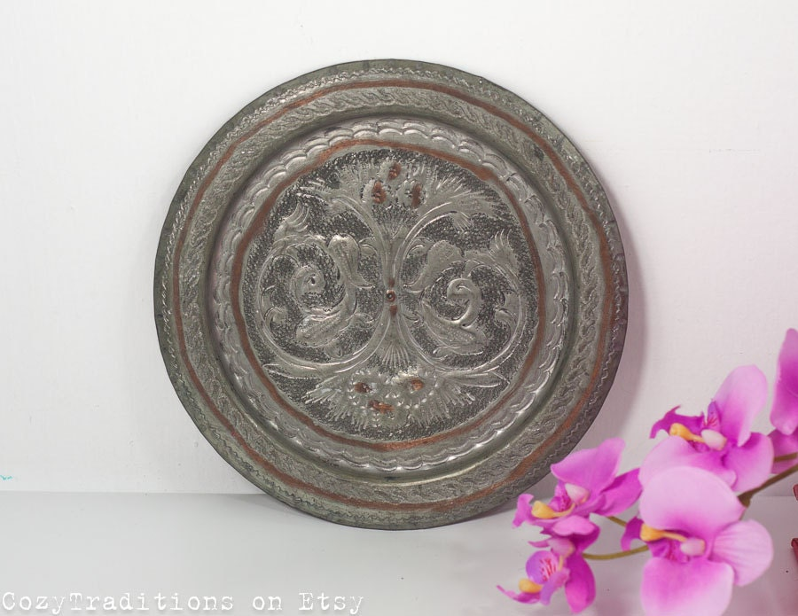 Decorative wall plate wall hanging by cozytraditions on etsy for Decor plates