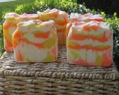 Rosemary Scented Cold Process Artisan Soap - Sweet Sunrise
