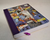 Heavy weight Upcycled Storm  X-Men Comic Book Journal