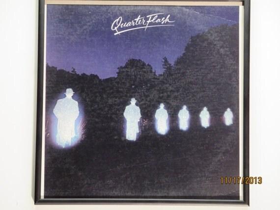 Glittered Record Album - Quarter Flash