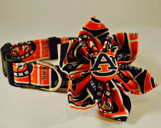 Auburn Fabric Flower Accessory