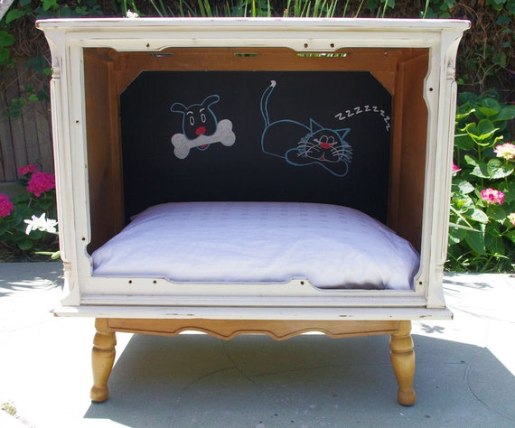 Sold Examples Of Chalk Painted Furniture Pet Bed Table
