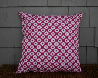 Ikat Print -  Throw Pillow Cover