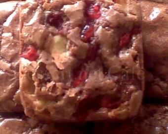 Cherry Mocha Brownies