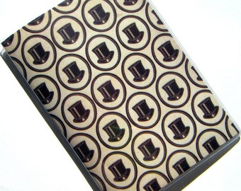 Passport Holder Cover Case -- Top Hats