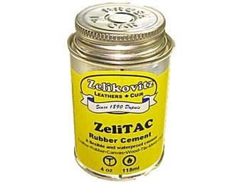 ZeliTAC Rubber Cement 4 ounce