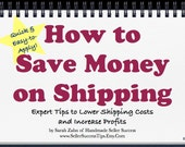 Lower Shipping Costs and Save Money on Shipping. Increase Profits with these Shipping Tips for Etsy Sellers. Make More Money on Etsy