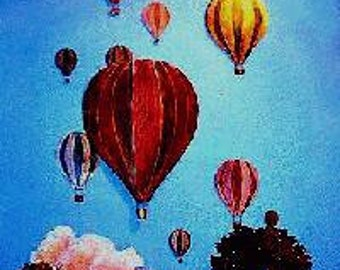 Balloons in Flight, Wall Sculpture