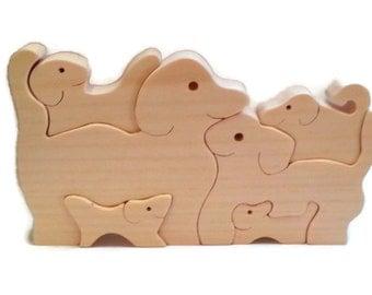 Dog Puzzle - Kids Toy Dog Puzzle - Animal Puzzle - Dogs