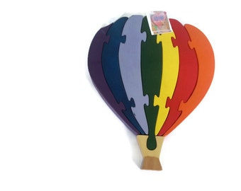 Hot Air Balloon Puzzle Toy Gift