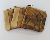 Vintage 1970s Cowgirl Coin Purses