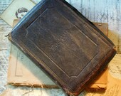 Vintage / Antique Leather 1800's Bible / Old and New Testament / Holy Bible