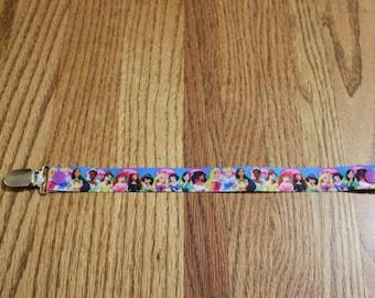 Disney's Princesses Pacifier Clip
