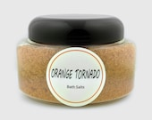 Caribbean Holiday Bath Salts  by Orange Tornado     16 oz. 500ml