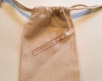 Cigar Favor Bags / Set of 10 / Perfect for Bachelor Parties, Weddings, Birthday Parties