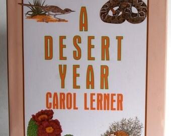 Vintage Children's Book, A Desert Year