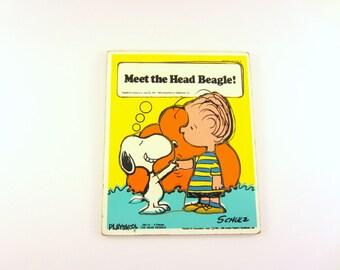 Vintage Playskool Puzzle - Snoopy