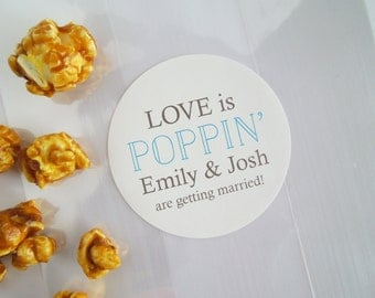 popcorn wedding favor sayings | just b.CAUSE