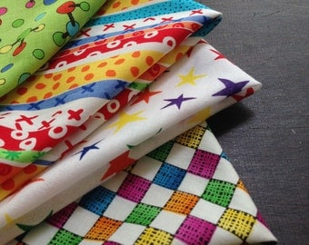 Kids Cloth Napkin Set of 4: Refugee-Made