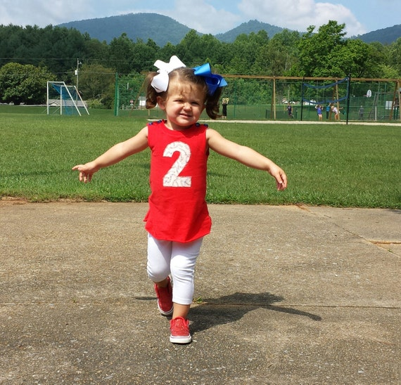 Girl Birthday Outfit Girls Baseball Outfit Little Girls