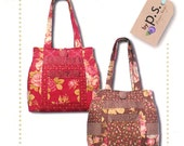PS021 Veranda Tote bag paper sewing pattern by Quilts Illustrated