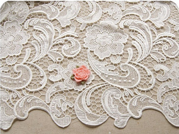 White lace fabric images galleries for Wedding dress material online