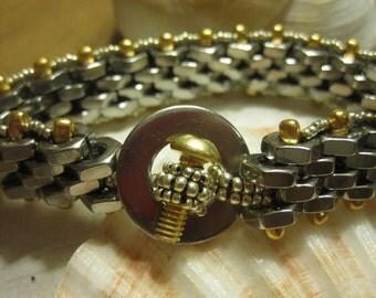 nuts and bolts bracelet
