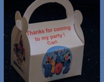 Rio 2 party favor box, Rio 2 birthday favor box, Rio 2 gift favor box