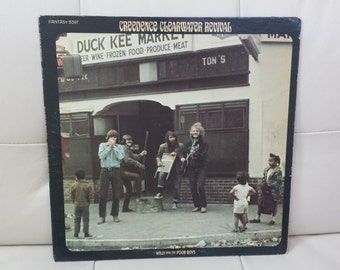"""Creedence Clearwater Revival- """"Willy And The Poor Boys"""" vinyl record"""