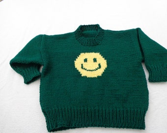 Happy Face Sweater- size 6