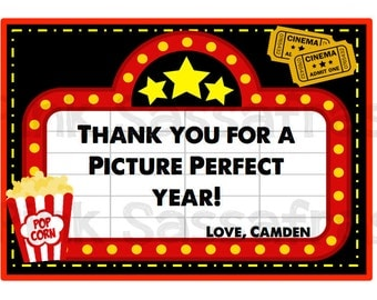 Picture Perfect Year Teacher Gift Tags