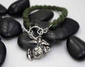 Military Support / Deployment Boot Band Bracelet-Marines