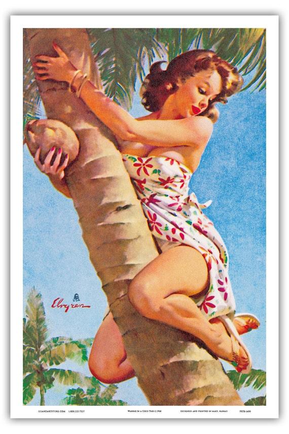 Hawaiian Vintage Art 3
