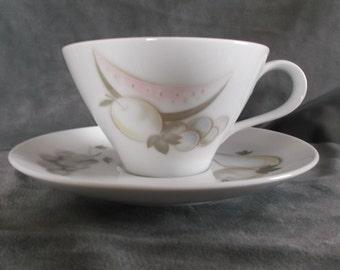 Vintage Noritake Melanie China Cup and saucer