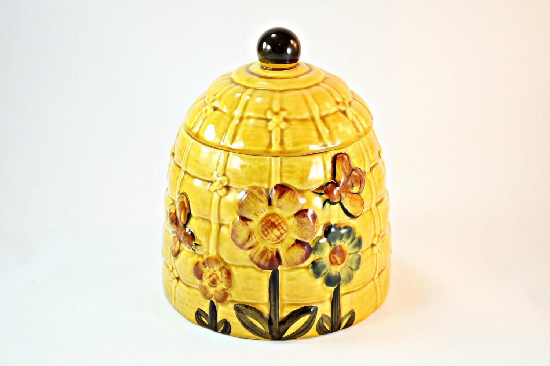 Cookie jar beehive cookie jar honey bees cookie jar los - Beehive cookie jar ...