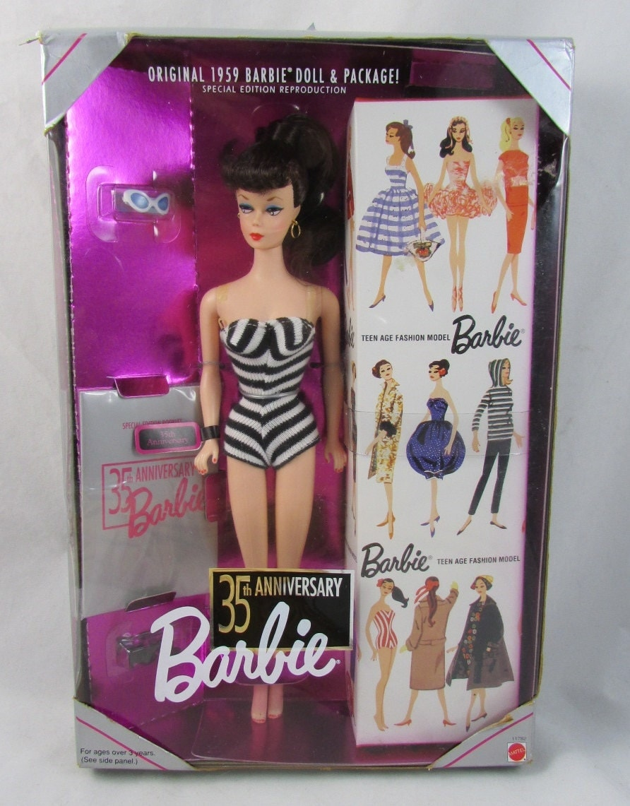 the origins of the barbie doll With her saccharine-sweet smile and impossibly long legs, barbie is the most famous doll in history.