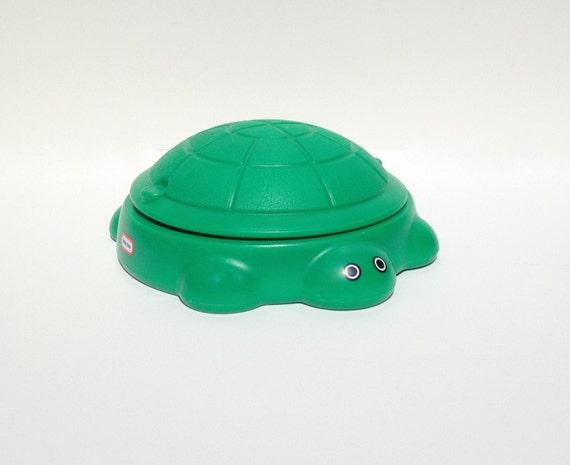 Vintage Little Tikes Turtle Sandbox Dollhouse Size Miniature