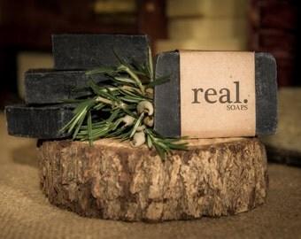 Activated Charcoal Soap,  Detox Soap, Facial Soap, Bamboo Charcoal Soap, Vegan Soap, Acne Soap, Gift, Gift Soap, Activated Charcoal