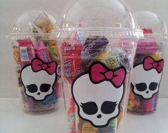 Monster High 16 oz Party Favor Cups, Set of 8