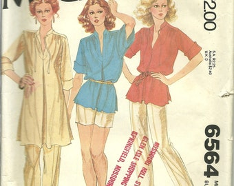 Carefree Patterns from McCalls 6564 Miss size 18