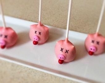 Pig Roast / BBQ Cake Pops