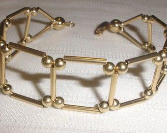 Gold Ladder Bracelet