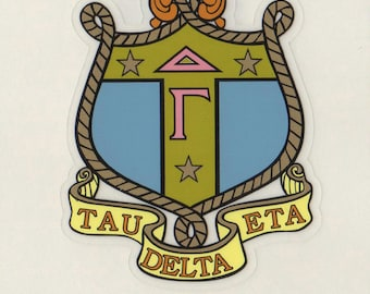 Delta Gamma Sorority Crest Sticker