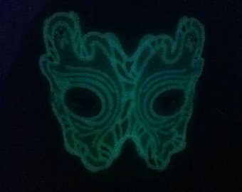 Glow in the Dark Ghost Mask