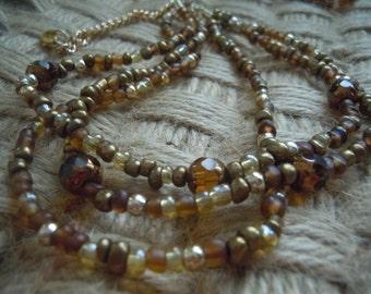 Swarovski Tigers Eye Necklace