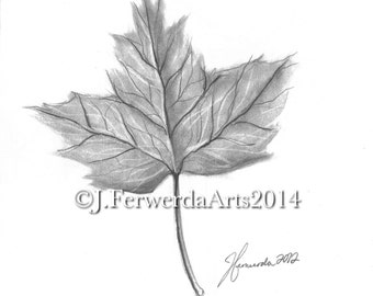 Pencil Drawing Print - Goodbye Summer - Day 269
